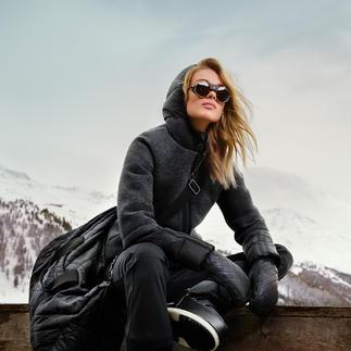 Die Sports-Couture-Jacke vom niederländischen Fashion-Press-Liebling Goldbergh. Sportliche Streetwear oder stylishe Sportswear? Beides!