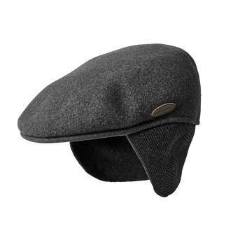 Das Original unter den trendigen Schiebermützen. Aus gewaschener Wolle. Mit ausklappbarem Nacken- und Ohrenwärmer.