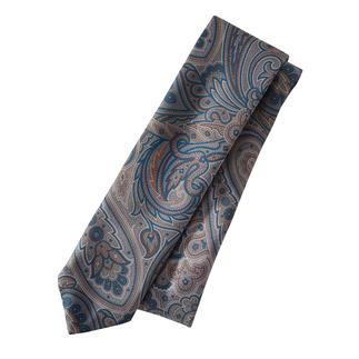 Die eine Krawatte für (fast) alle Sakkos und Anzüge. Im klassischen Paisley-Dessin: Ihr Allrounder zu Beige, Braun, Blau, Grau, Schwarz.