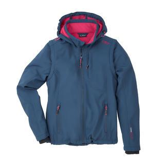 Die Soft Shell-Jacke mit WindProtect®. Schlank, leicht und trotzdem warm. Von CMP.