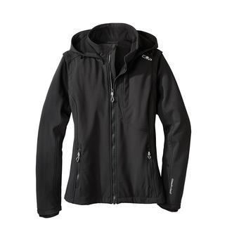 Die Soft Shell-Jacke mit WindProtect® von CMP. Winddicht, Wasser abweisend, dabei atmungsaktiv und bewegungsfreundlich.
