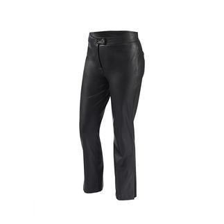 """Die modische 7/8-Hose aus """"Similpelle"""" von Pinko. Soft und edel wie Leder. Aber pflegeleichter und preiswerter."""
