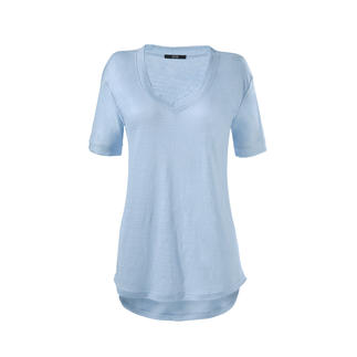 Das SLY010 Edel-Shirt aus reinem Leinen. Modisch. Lässig. Luftig. Von SLY010.