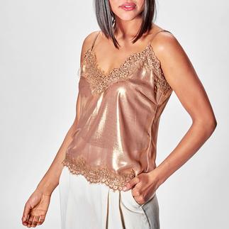 Liu Jo Metallic-Lingerie-Top Mode-Must-have Lingerie-Top: bei Liu Jo längst bewährter Basic-Klassiker.