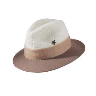 Der stilvolle, perfekt sitzende Fedora von Hutmacher Raffaello Bettini/Florenz, seit 1938. Sportliche Strickmütze oder eleganter Filzhut? Beides!