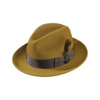 Der bewährte Wetterschutz eines Wollfilz-Fedora – in den Trendfarben der Saison. Vom amerikanischen Hutspezialisten Bailey of Hollywood, seit 1922.