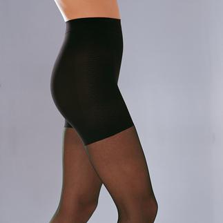 Die Strumpfhose für sanft formenden Komfort, der Ihre Figur straffer erscheinen lässt. Aus seidenweichem hochelastischen 40 Denier-Garn. Von Gallo, Italien.