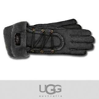 UGG®-Handschuhe Kuschelig weich, ganz leicht und schön warm: Lammfell-Handschuhe von UGG® Australia.