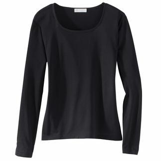 Die feinen Damen-Shirts von Sunspel/England, eine der traditionsreichsten Wäsche-Manufakturen Englands. Aus gekämmter, feiner Baumwolle zweifach gewirkt, sind die Shirts besonders formstabil und elastisch.
