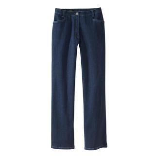Die Magic-Jeans für einen flachen Bauch, festen Po und eine schlanke Taille. Formt Ihre Figur wie eine Miederhose – und ist dennoch extrem bequem.