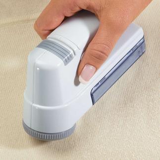 Der ideale Wollrasierer für vielerlei Oberflächen. Störende Pillingknötchen lassen sich nun ganz einfach entfernen.