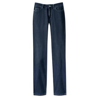 Die Luxus-Jeans mit feinstem Kaschmir. Softer Griff. Seidige Optik. Gepflegter Look. Von Cotton Line - Hosenspezialist seit 1982.