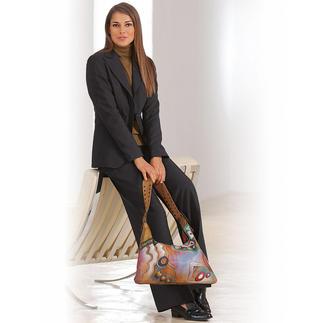 """Damen-Smoking Das """"kleine Schwarze"""" als Hosenanzug. Perfekt als Gesellschaftsanzug – edel als Business-Suit."""
