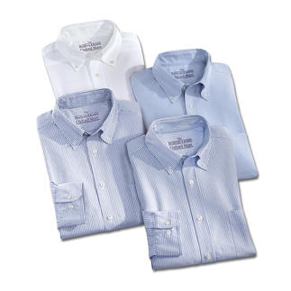 Die BDO-Basic-Hemden aus luftig, lässigem Oxford-Gewebe. Es ist großzügig gefertigt -  nichts engt Sie ein.