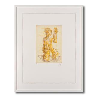 Markus Lüpertz – Clitunno 70 Jahre Markus Lüpertz: Seltene Kaltnadelradierung des deutschen Malerfürsten. 30 Exemplare. Jedes mit Unikatcharakter. Maße: 50 x 66 cm