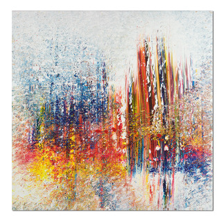 Benno Werth – Schichtarbeit Exklusiv für Pro-Idee: Prof. Benno Werth editiert erstmals sein Lieblingswerk. Der erfolgreiche Künstler firnisst jedes der 20 Exemplare von Hand. Maße: 100 x 100 cm