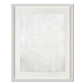 Günther Uecker – Both Prägedruck auf 300-g-Büttenpapier  Auflage: 50 Exemplare   Exemplar: e. a.  Blattgröße (B x H): 50 x 70 cm   Maße: gerahmt 68 x 88 cm