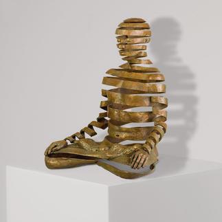 Sukhi Barber – Appearance/Emptiness Sukhi Barbers berühmtestes Werk. Jetzt als Unikatserie in Bronze. 16 Exemplare. Exklusiv bei Pro-Idee. Maße: 20 x 25 x 15 cm