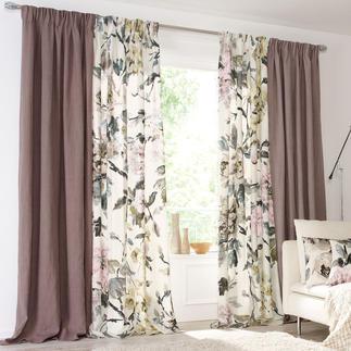 """Vorhang """"Brera Lino"""", 1 Vorhang Pures Leinen, überraschend soft im Griff und geschmeidig im Fall."""