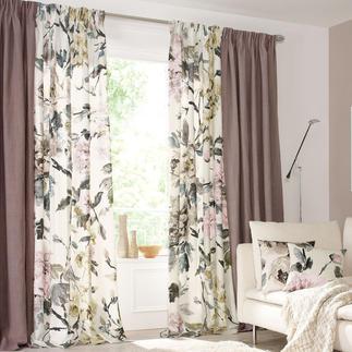 """Vorhang """"Shanghai Garden"""", 1 Vorhang Die typische Opulenz von Designers Guild – in ungewohnt zurückhaltenden Farben."""