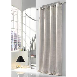 Vorhang Antium - 1 Stück Die angesagte Optik von Metallic-Garn, aber weicher und wohnlicher. 50 % Leinen erhalten den textilen Charakter.