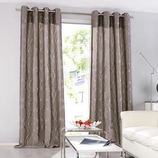 """Vorhang """"Medaillion"""", 1 Vorhang Faszinierend dreidimensional und voluminös. Dabei verblüffend leicht und erschwinglich."""