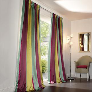 """Vorhang """"Sansibar"""", 1 Vorhang Vom Münchner Stoff Frühling: Multicolor-Streifen von Sahco, Nürnberg."""