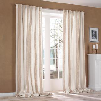 """Vorhang """"Brera Largo"""", 1 Vorhang Luxus-Leinen von Designers Guild ist überraschend soft im Griff."""