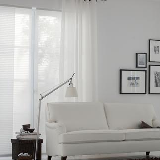 """Flächenvorhang """"Uno"""", 1 Flächenvorhang Ganz in purem Weiß und doch gestreift."""