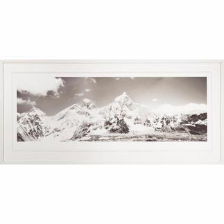 Koshi Takagi – Himalaya Fotorealistische Bleistiftzeichnung mit über 1 Million handgemalten Strichen. Erste Edition des mehrfach ausgezeichneten jap. Künstlers Koshi Takagi. 30 Exemplare. Maße: gerahmt 140,5 x 65 cm