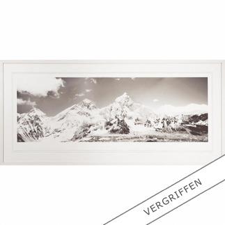 """Koshi Takagi: """"Himalaya"""" Fotorealistische Bleistiftzeichnung mit über 1 Million handgemalten Strichen. Erste Edition des mehrfach ausgezeichneten jap. Künstlers Koshi Takagi. 30 Exemplare."""