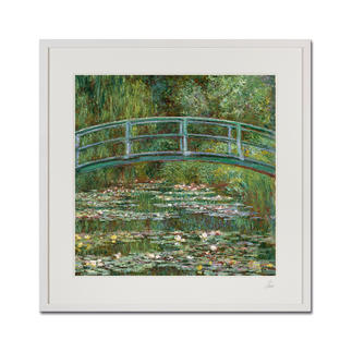 "Claude Monet – Water Lily Pond (1899) Claude Monet ""Water Lily Pond"" (1899) als High-End Prints™.