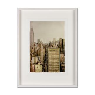 Gottfried Salzmann – NY Empire State Building, 2014 Gottfried Salzmanns erste 3D-Edition. 25 Exemplare – jedes ein Unikat. Maße: gerahmt 63,5 x 84 cm