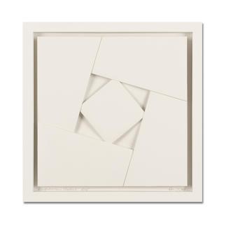 Peter Weber – Eingeschlossenes Quadrat Einzigartige Faltkunst: Aus einem Stück von Hand gefertigt. Peter Webers geheimnisvolle Werke. Erste Unikatserie von 15 Exemplaren – exklusiv bei Pro-Idee.