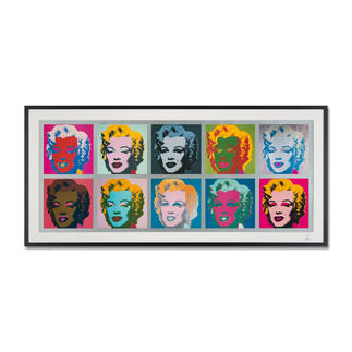 "Andy Warhol – Marilyn Monroe Tableau (1967) Andy Warhol ""Marilyn Monroe Tableau"" (1967) als High-End Prints™.