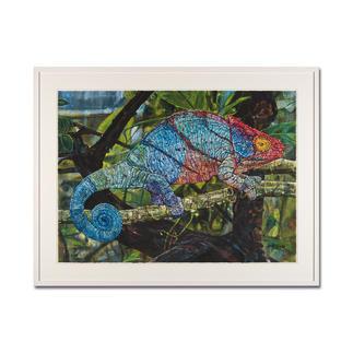 Sarah Linke – Change your Colour Sarah Linkes erste Edition – jedes Exemplar von Hand übermalt. 50 Exemplare. Exklusiv bei Pro-Idee. Maße: gerahmt 109 x 82,5 cm