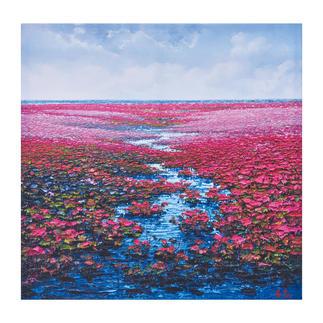 """Pei Lian Zhi: """"Romantic Daydream"""" Pei Lian Zhi: In mehr als 200 Sammlungen vertreten. Jetzt auch in Ihrer?"""