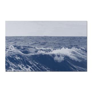 """Sonja Weber: """"Meereshorizont"""" Gewebte Atlantikwellen: Wann wird diese Kunst in Museen erscheinen? Aufwändig gewebt. Nur 12 Unikate – exklusiv bei Pro-Idee."""