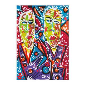 Leon Löwentraut – Brothers Leon Löwentraut: Investition in ein außergewöhnliches Talent. Zweite exklusive Pro-Idee Edition des Shootingstars der deutschen Kunstszene. Maße: 70 x 100 cm