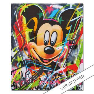 René Turrek – Mickey's World René Turrek: Weltpremiere – exklusiv bei Pro-Idee. Erste Unikatediton des international gefeierten Graffiti-Künstlers. Handübersprüht.