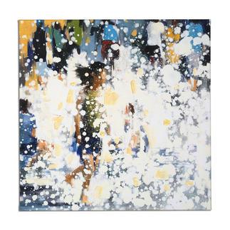 Renata Tumarova – The Flow Renata Tumarova editiert exklusiv für Pro-Idee ihr bisher nicht veröffentlichtes Werk. 40 Exemplare. Maße: 80 x 80 cm