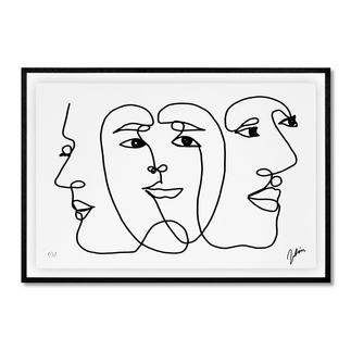 Andrés Ribón Troconis – Three minds are better than one Andrés Ribón Troconis: Der Geheimtipp aus Südamerika. Erste Edition in Europa. Exklusiv bei Pro-Idee. 30 Exemplare. Maße: gerahmt 100 x 70 cm