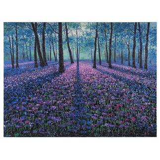 Pei Lian Zhi – Original  Spring Forest Pei Lian Zhi: In mehr als 200 Sammlungen vertreten.  Jetzt auch in Ihrer? Einzigartiges Ölgemälde mit bis zu 1 cm hohem Farbauftrag. Maße: 120 x 90 cm.