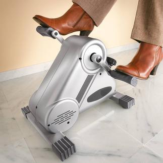 Pedaltrainer Leiser und gleichmäßiger: Pedaltrainer mit patentiertem Magnetbremssystem. Für Beine und Arme.