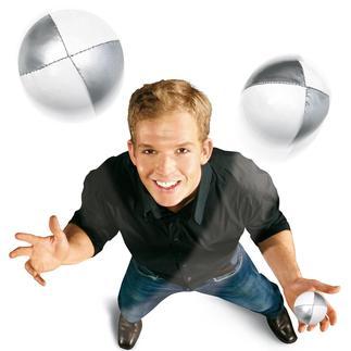 Jonglierset Über 250.000 Menschen haben bisher mit diesem Set das Jonglieren gelernt.