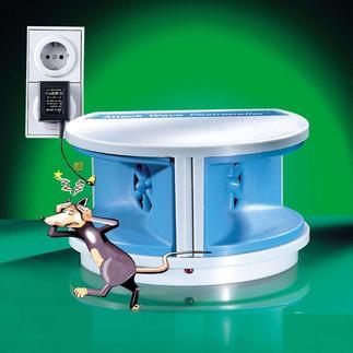 Mäuse-und Insekten-Vertreiber Die einfache Waffe gegen Plagegeister: Ultraschall.
