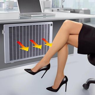 Infrarot-Flachheizung Nie mehr kalte Füße: am Schreibtisch, im Hobbyraum, beim Lesen, Fernsehen, ...