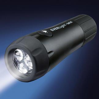 Everlight Twist 3 LEDs Jetzt mit 3 LEDs: 29 % höhere Beleuchtungsstärke. 10 Sekunden Drehen für 7 Minuten Licht.