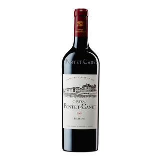 """Pontet Canet 2009, 5ème Grand Cru Classé, Pauillac, Bordeaux, Frankreich """"Ein in jeder Hinsicht herausragender Wein. 100 Punkte."""" (Robert Parker, Wine Advocate 199, 02 / 2012)"""