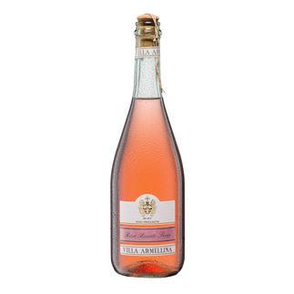 Rosè-Secco Frizzante, Villa Armellina, Veneto IGT, Italien Nur 10,5 % Alkohol – aber 100 % Genuss.